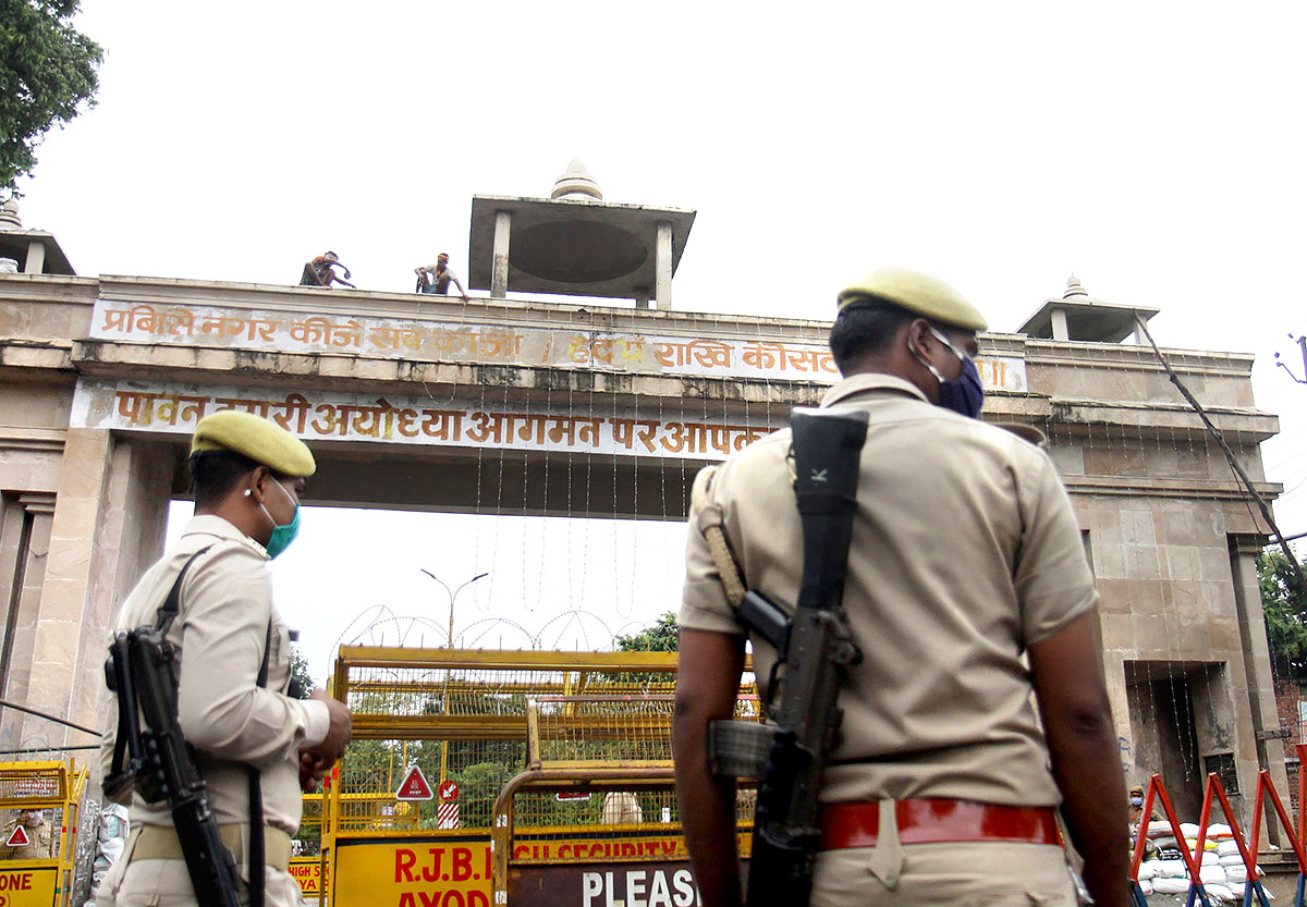 SP leader alleges corruption in Ram Temple land deal