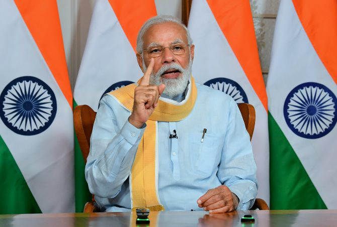 Modi kickstarts week one of Unlock 1 with 28 meetings