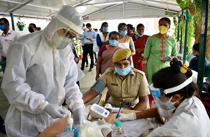 COVID-19 not 'exploded' in India but risk remains: WHO