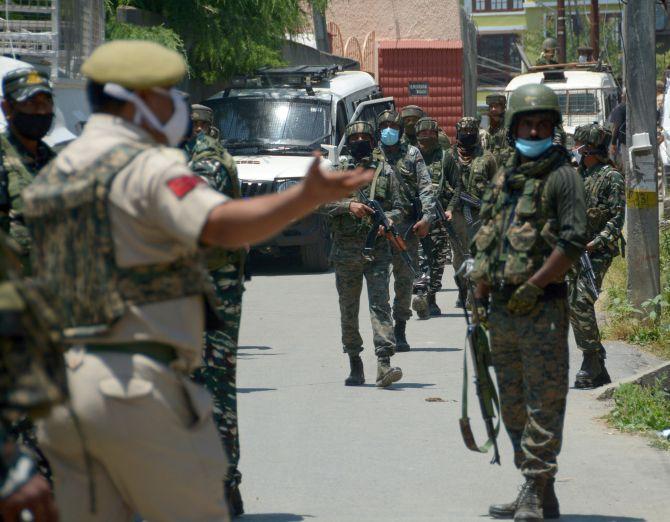 Doda becomes 'terrorist free' as Hizb commander killed