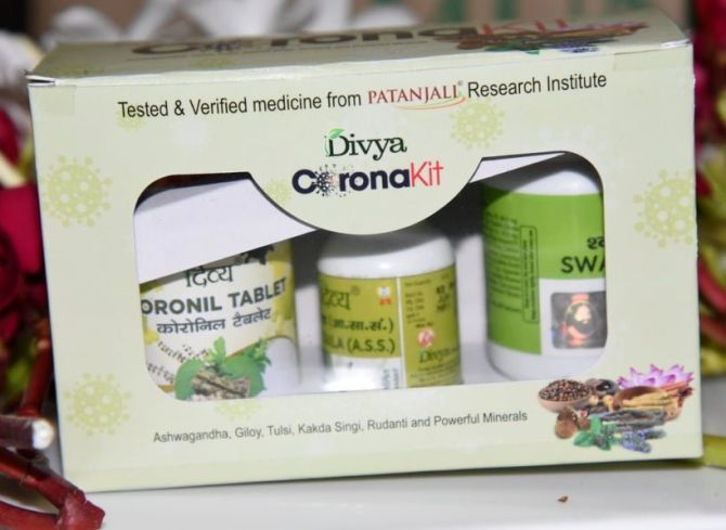 Broke no rule, had licence for Covid drug: Patanjali
