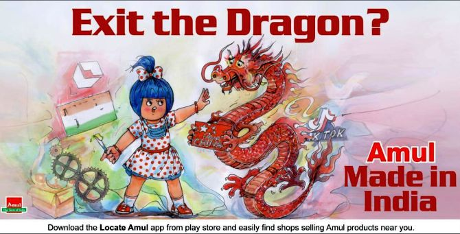 Twitter briefly blocks Amul account for post on China