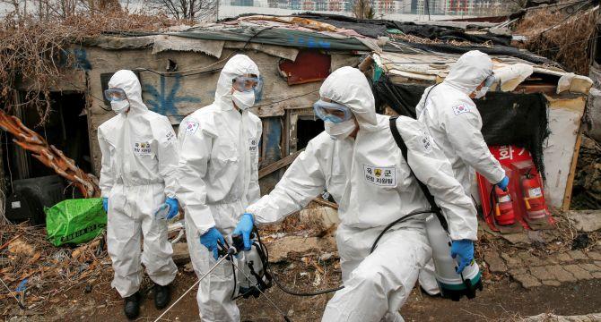 MAPPED: The global outbreak of coronavirus