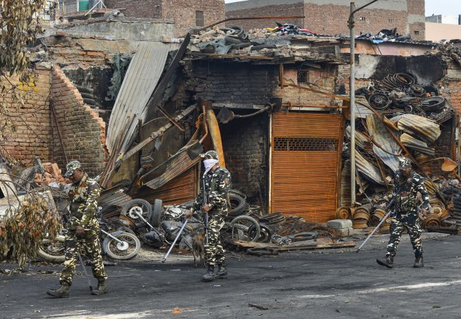 In history of communal riots, where does Delhi stand?