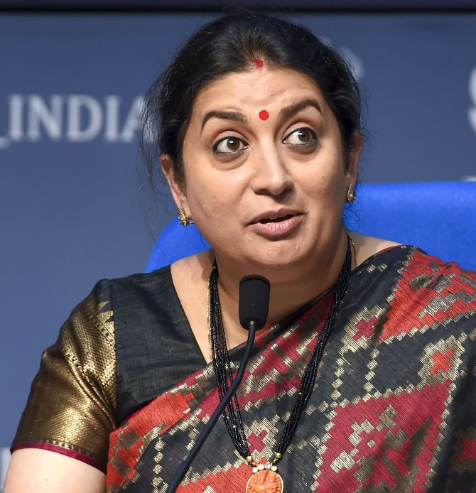 Smriti to build home in Amethi, says no MP's done it