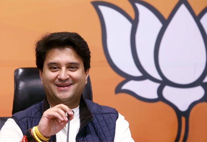 Why BJP welcomed Jyotiraditya Scindia