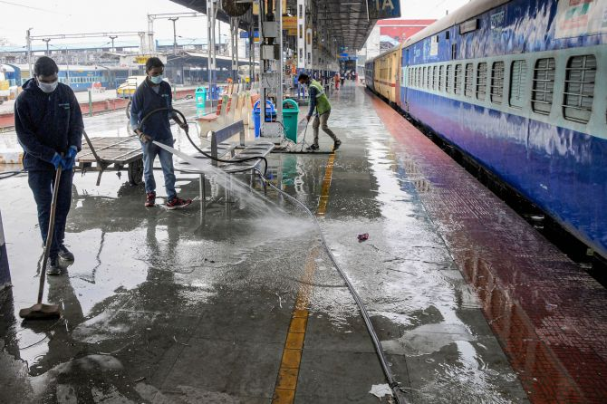 Suspension of passenger trains extended till May 3