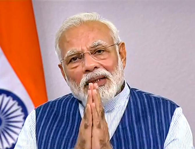 Modi to share video message on Friday morning