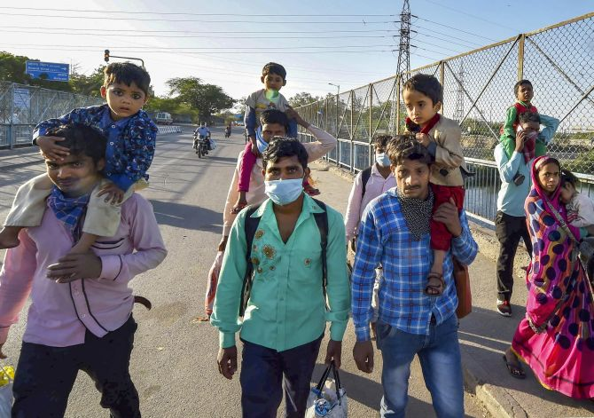 Panic bigger problem than virus: SC on migrant exodus