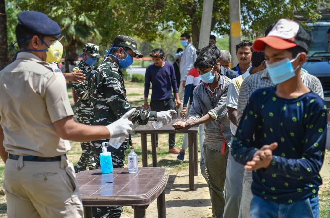CRPF DG quarantines self after doctor tests positive