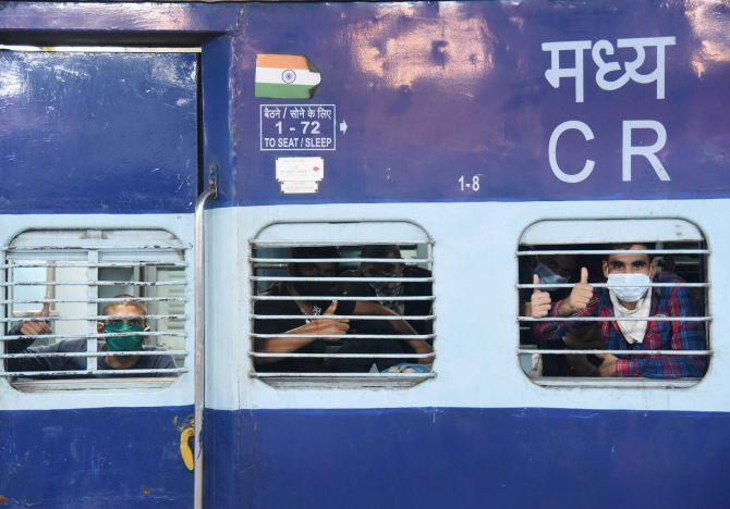 Shramik trains ferried 42 lakh migrants since May 1