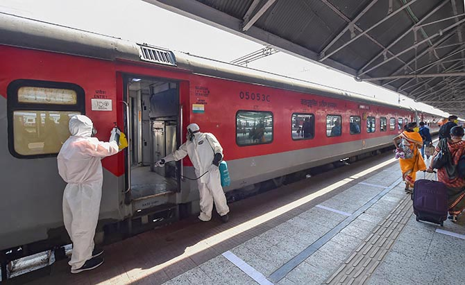 Trains to run from June 1; online booking opens today
