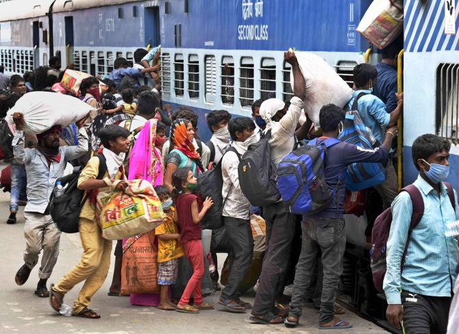 'People with health conditions, avoid Shramik trains'