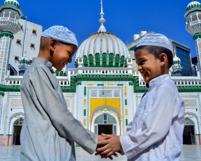 PHOTOS: India celebrates Eid-ul-Fitr amid lockdown