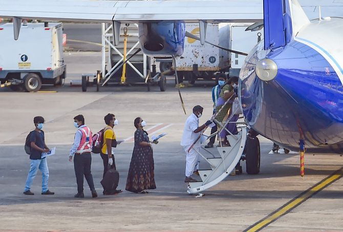 12 IndiGo passengers on 4 flights test positive