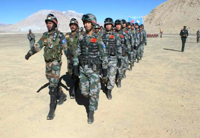Sizeable number of Chinese troops in Ladakh: Rajnath
