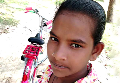 Meet the Brave Bicycle Girl of Bihar