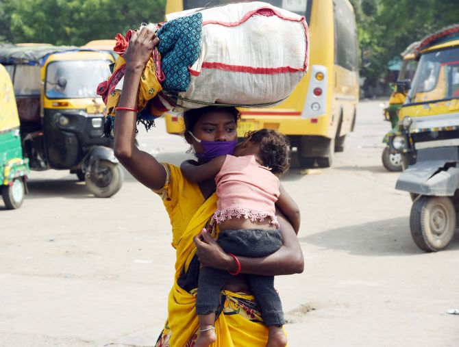 SC takes cognisance of migrants' miseries