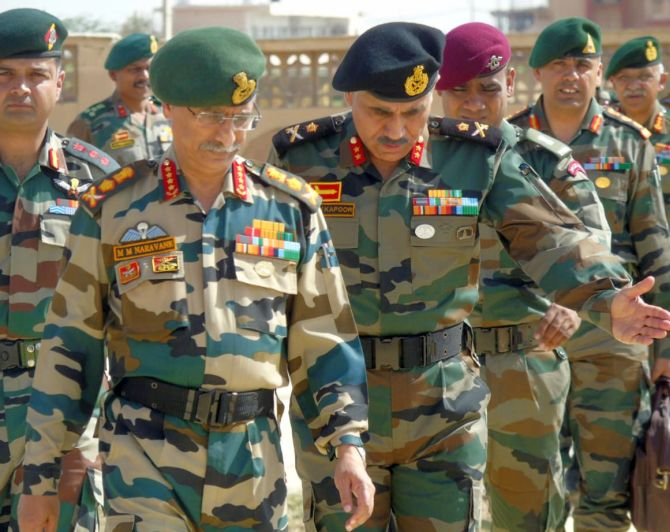 Top Army commanders meet amid China's Ladakh offensive