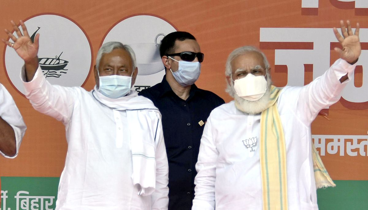 'Nitish Kumar has to choose between dignity and power'