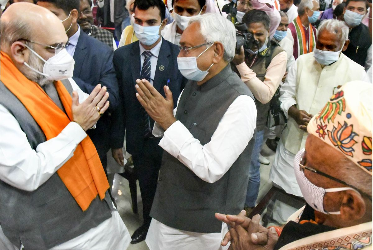 BJP will have to treat Nitish with kid gloves