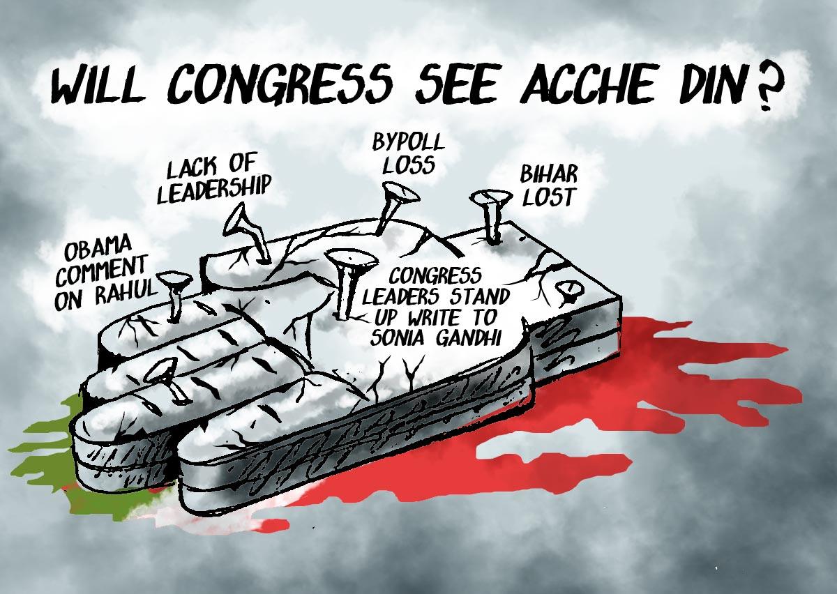 Dom's Take: Will Congress see Acche Din?