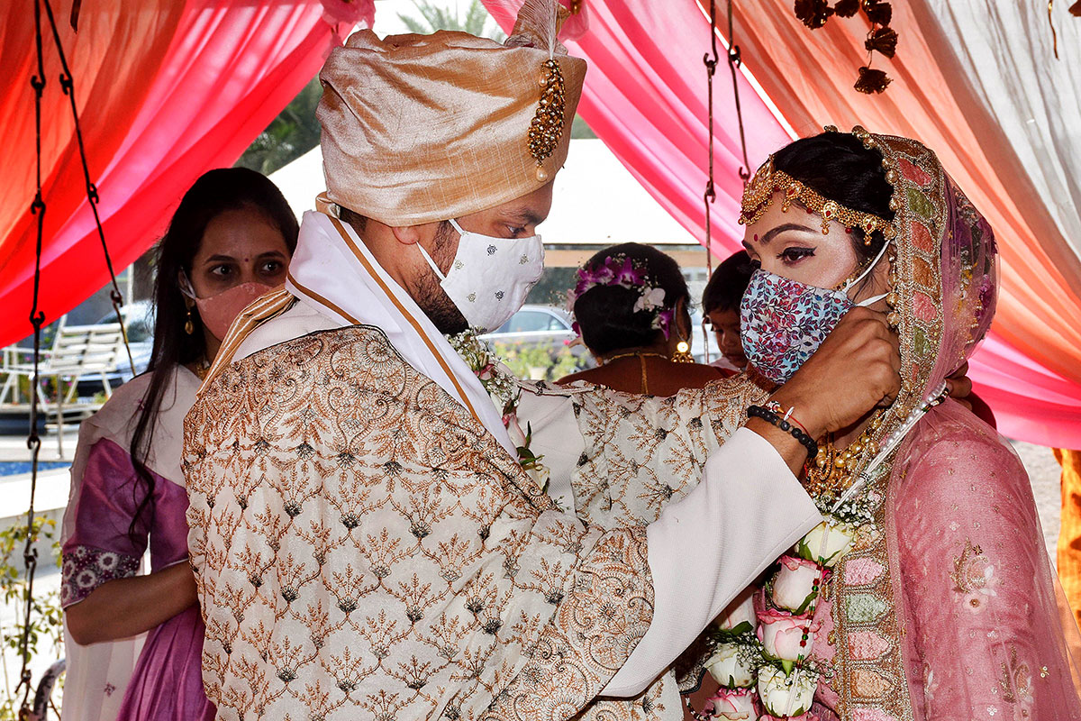 How COVID has changed the way Indians marry