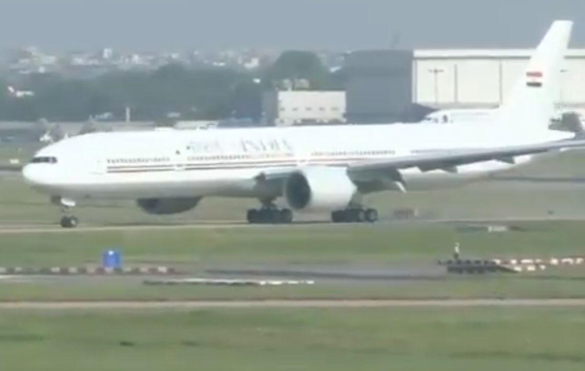 Second VVIP aircraft for Prez, PM arrives in Delhi
