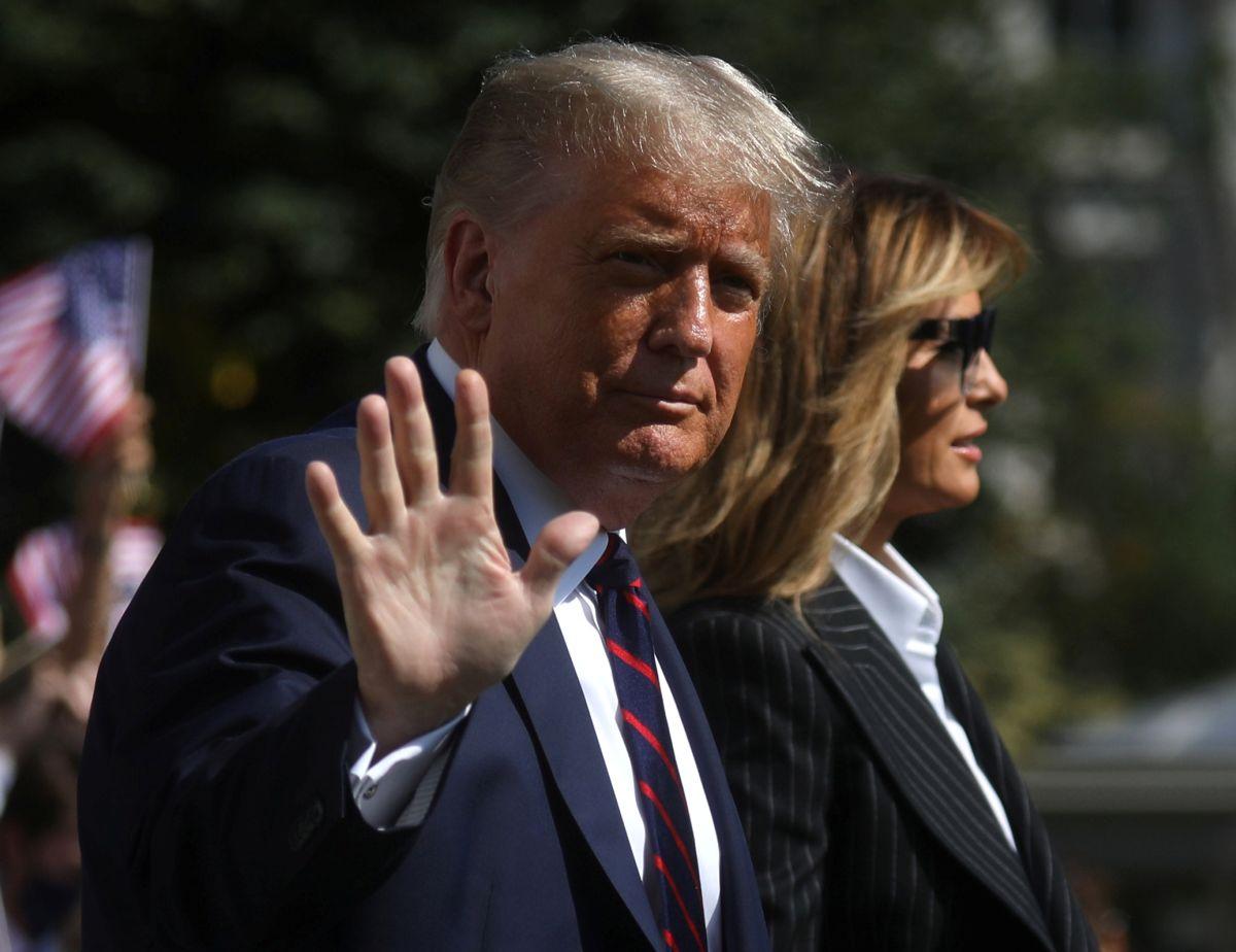 Melania wants Trump to concede to Biden
