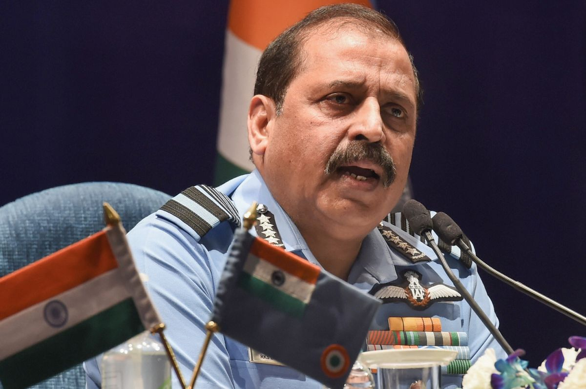 Drone strikes was an act of terror: IAF chief