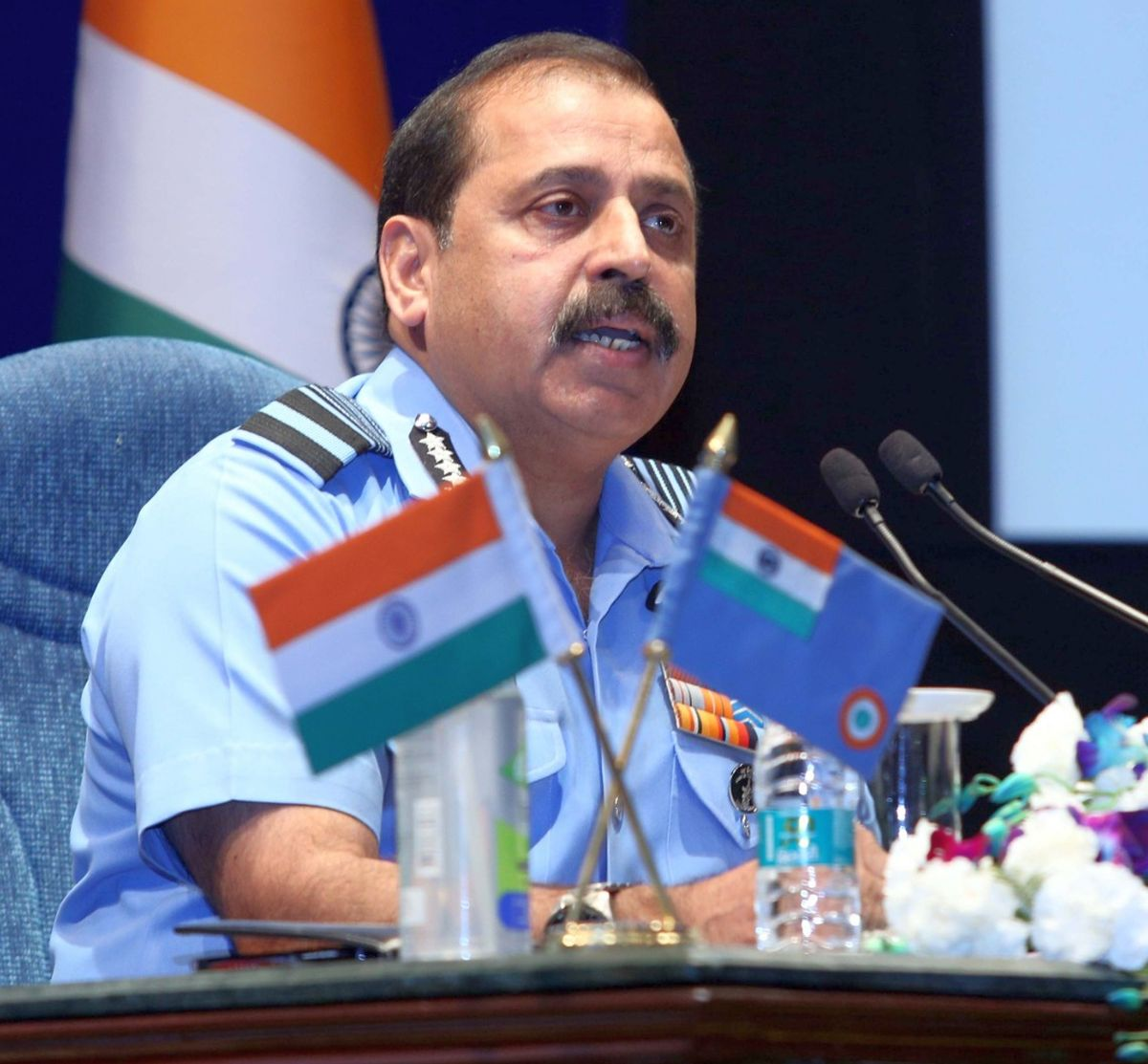 LAC row: IAF chief lauds 'air warriors' for response