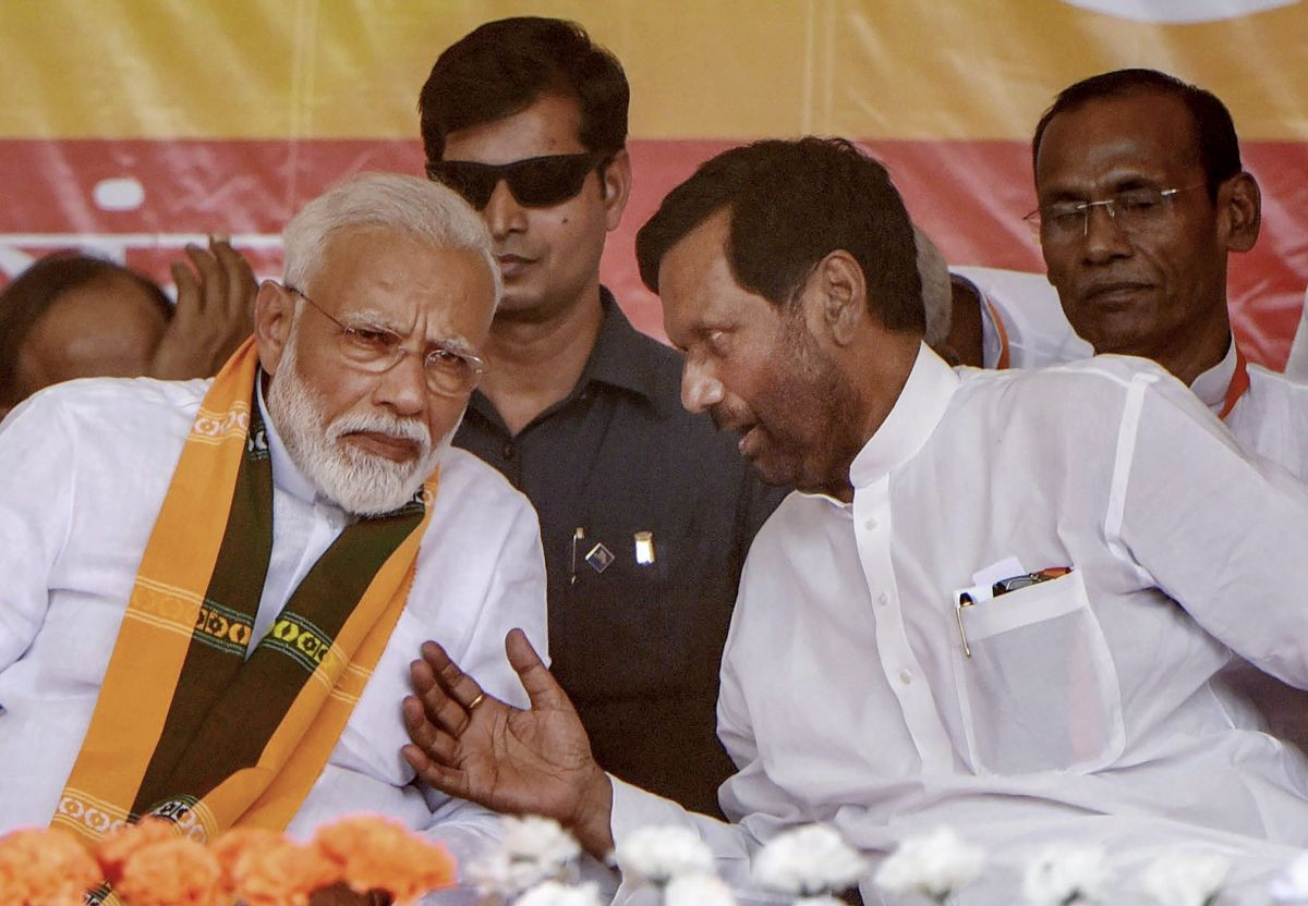 No BJP ally in Union cabinet after Paswan's passing