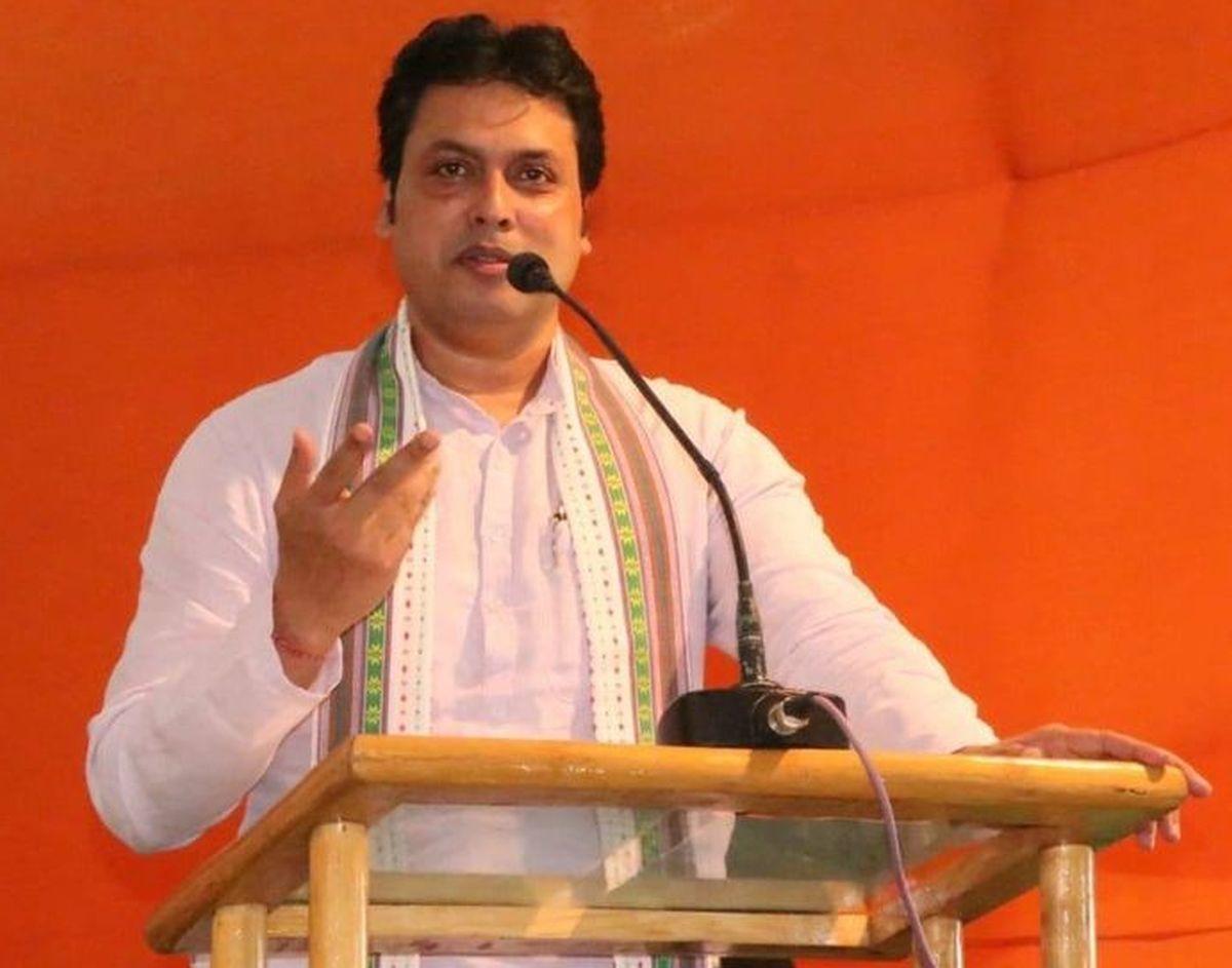 Tripura CM Biplab Deb cancels 'public opinion' test