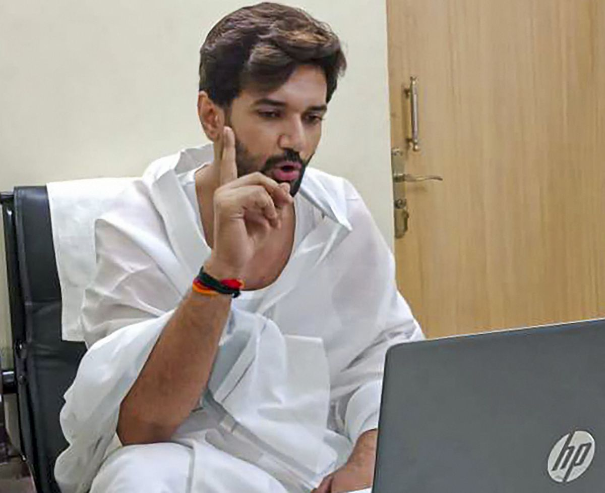 Chirag rejects decisions of faction headed by uncle