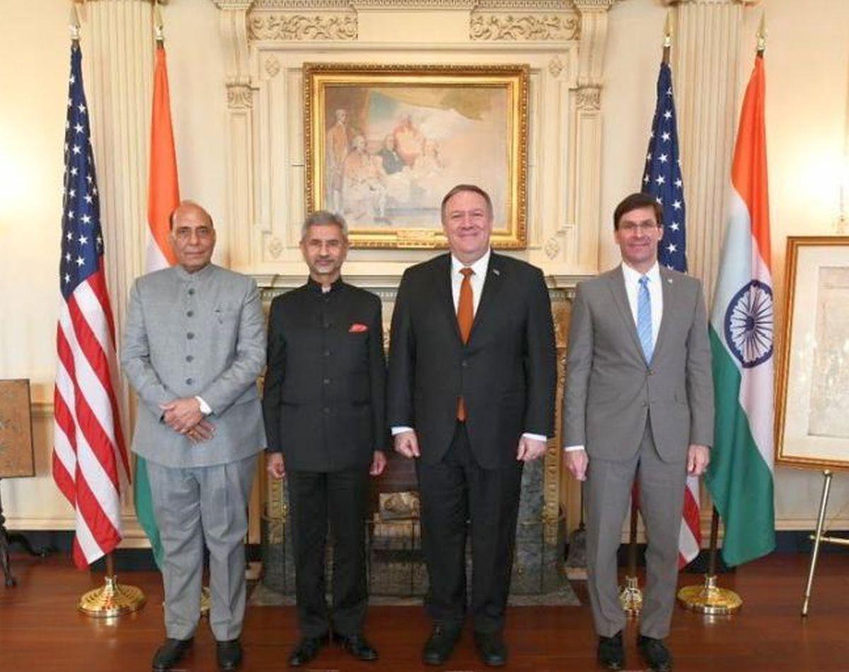 Indo-US 2+2 talks on Oct 27 in Delhi: MEA