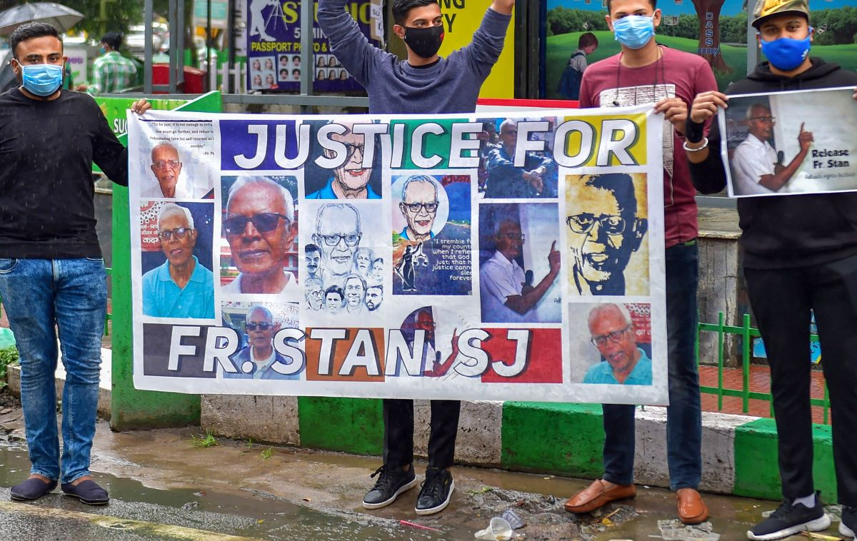 Stan Swamy's plea for straw-sipper put off to Dec 4