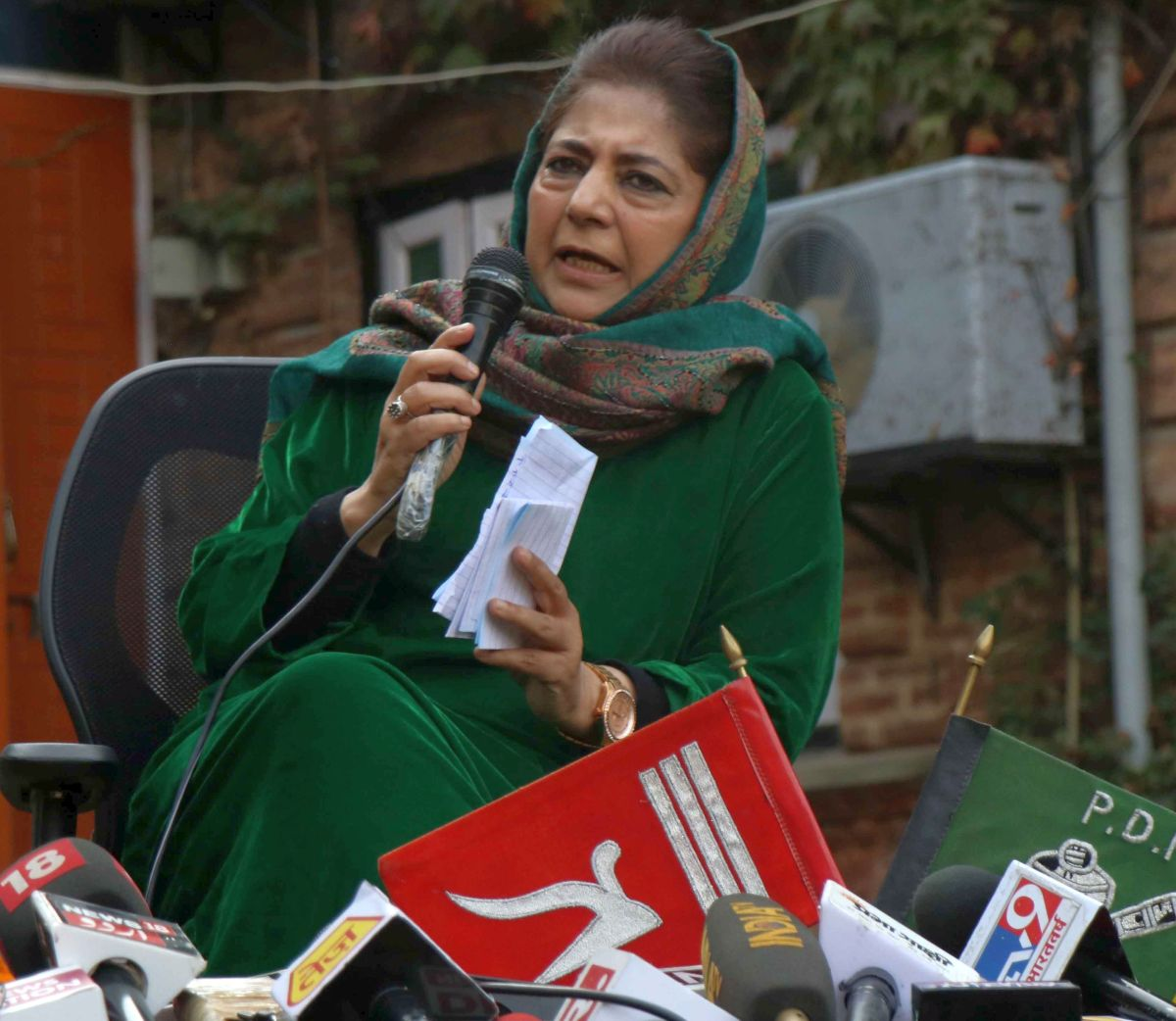 Will press for restoration of special status: Mehbooba