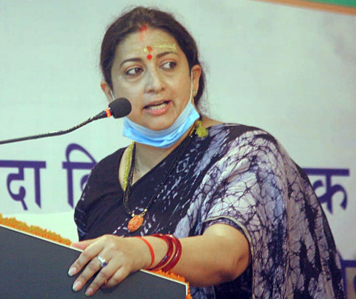Smriti finds place in panel on political affairs
