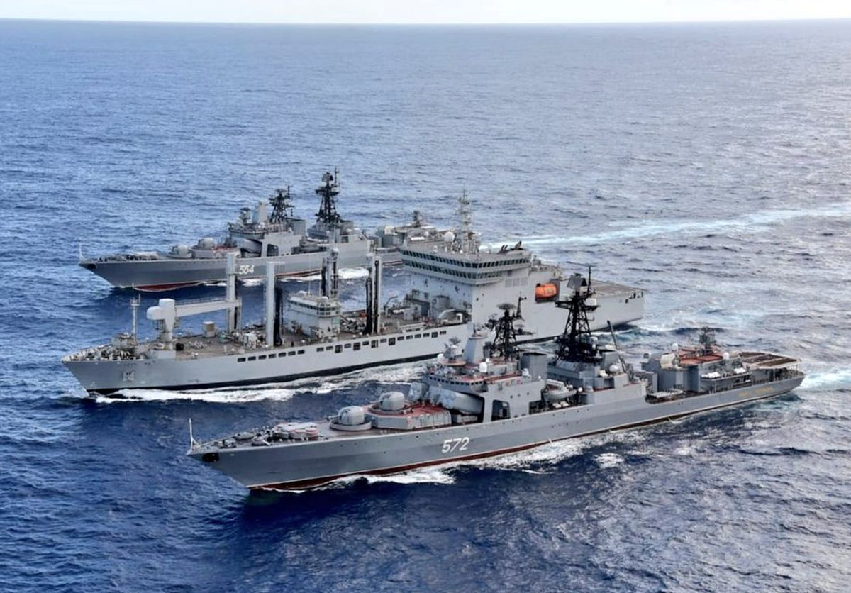 'Indian Navy is confident of rising to any challenge'