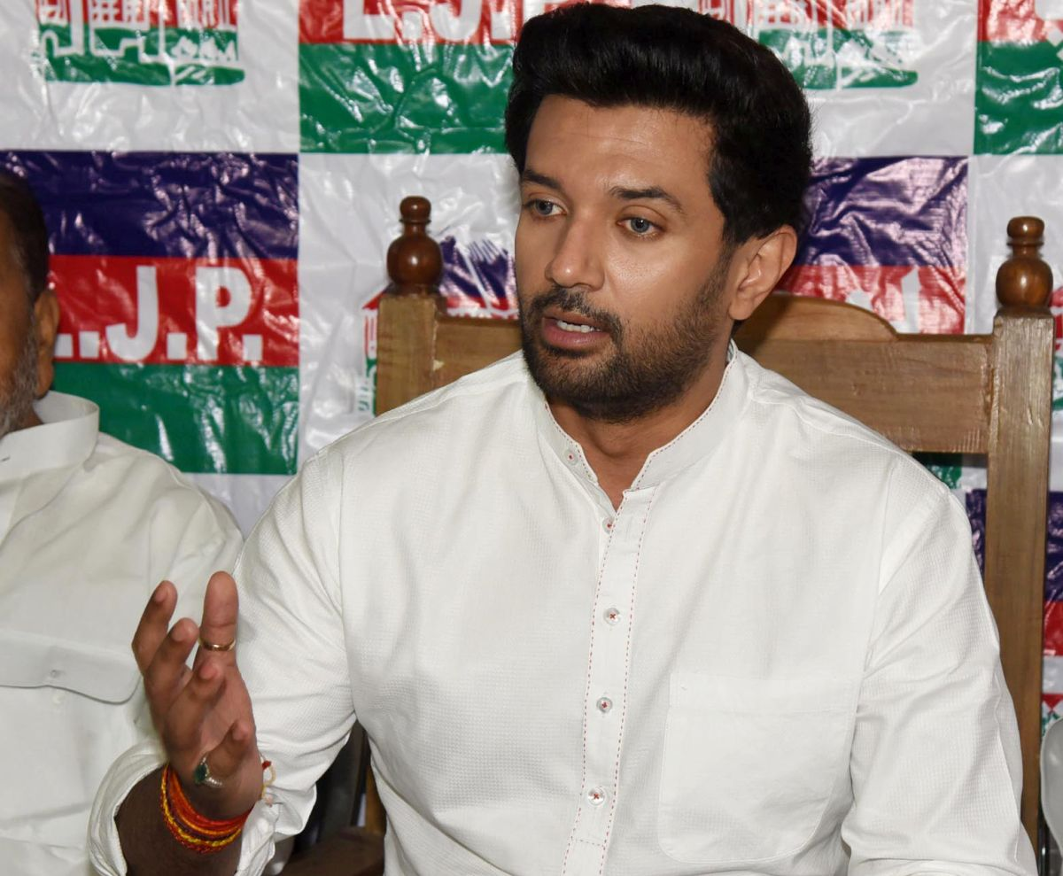 BJP hitting out at LJP due to Nitish: Chirag Paswan
