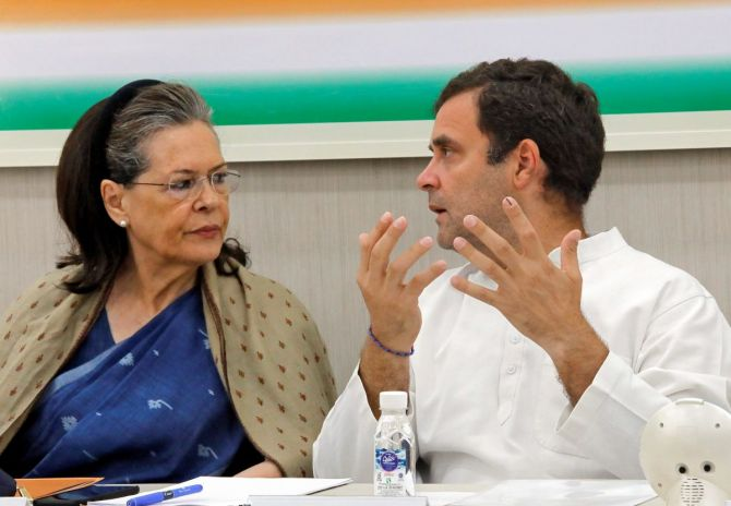Docs advise Sonia to shift out of Delhi in view of pollution - Rediff.com India News