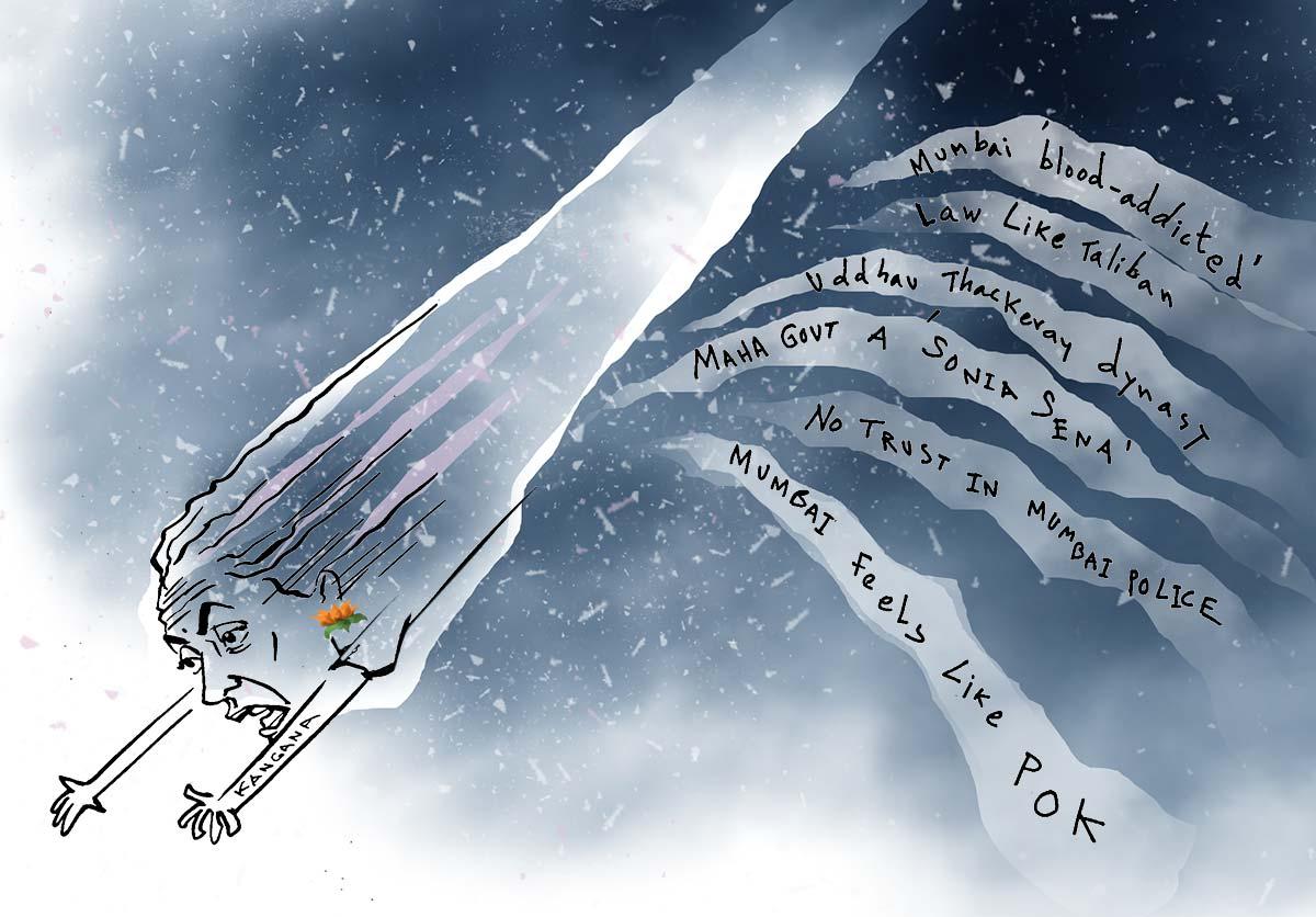 Dom's Take: Kangana's Comet