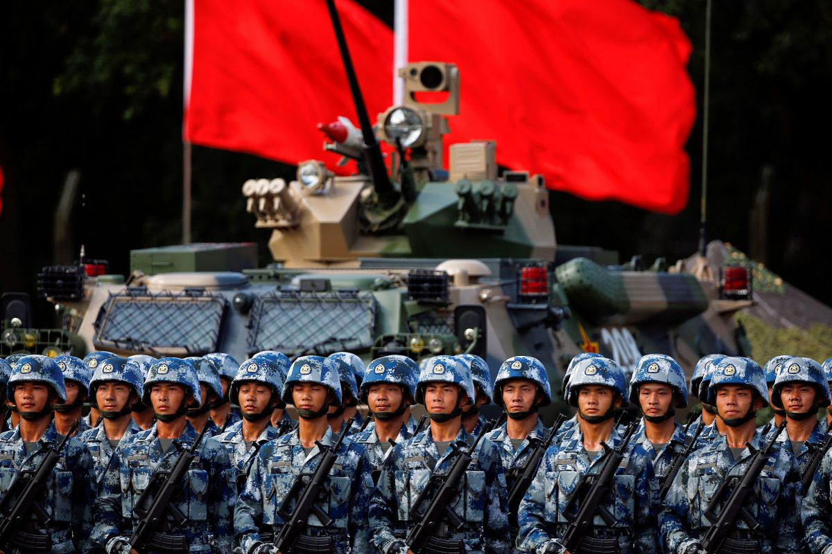 How China's military plans to catch up with the US