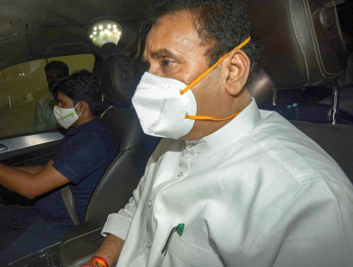 ED searches 2 homes of Anil Deshmukh