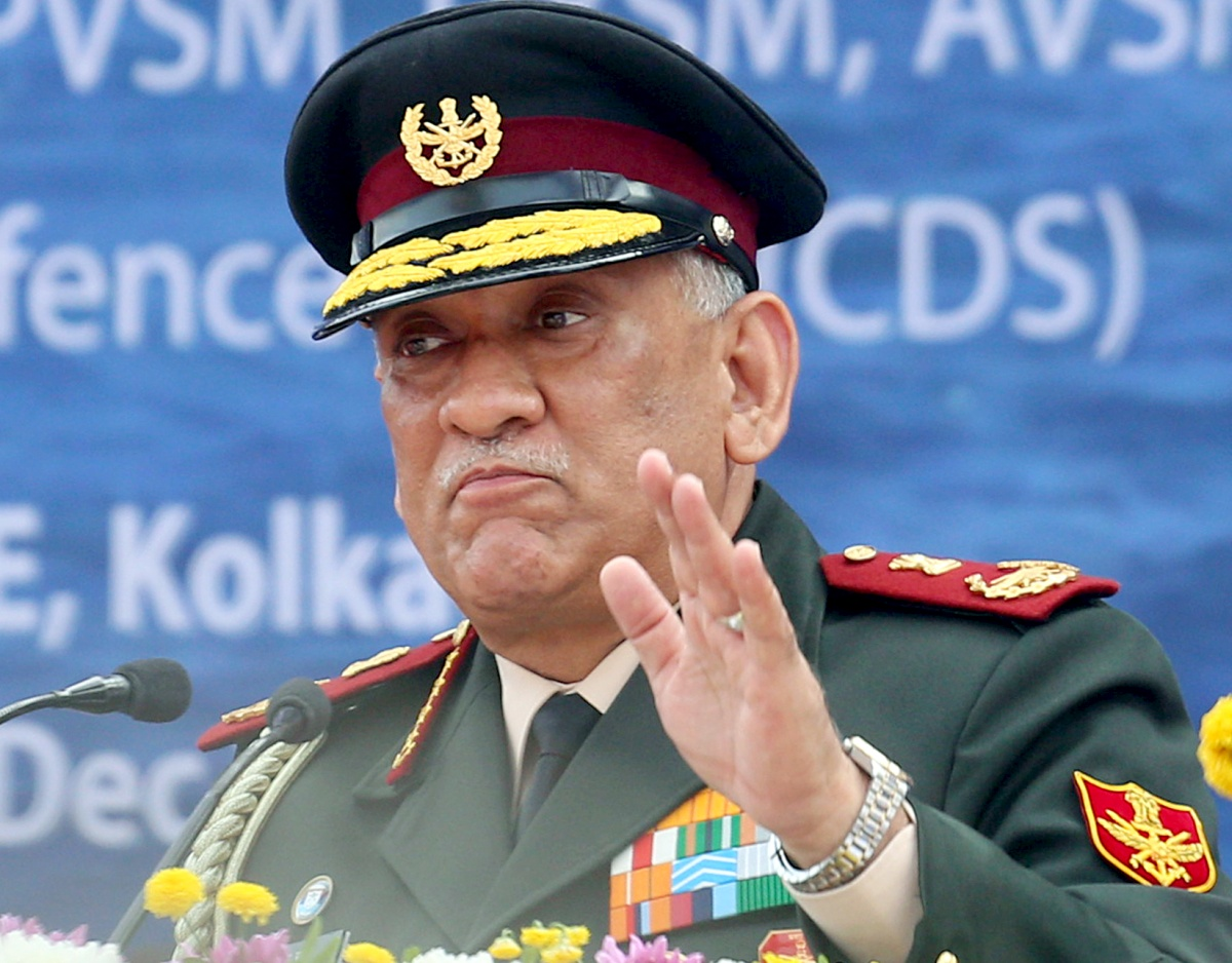 Why is Gen Rawat rushing with Theatre Commands?