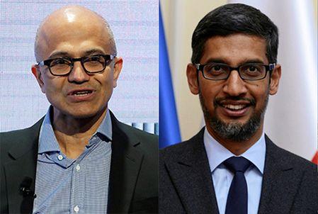 Pichai, Nadella support India's fight against COVID-19