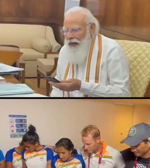 SEE: In tears, women's hockey team speak to PM Modi