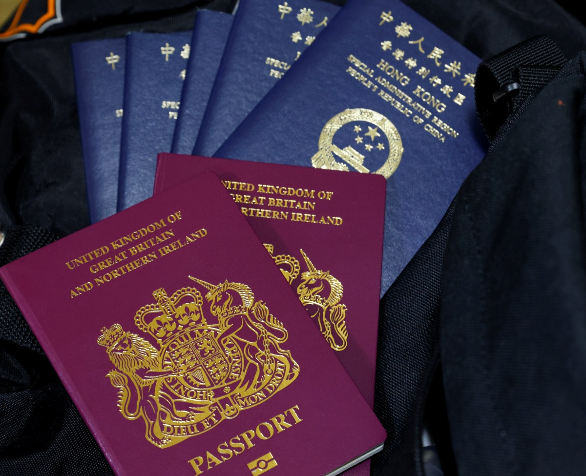 Britain, China clash over new UK visa for Hong Kongers