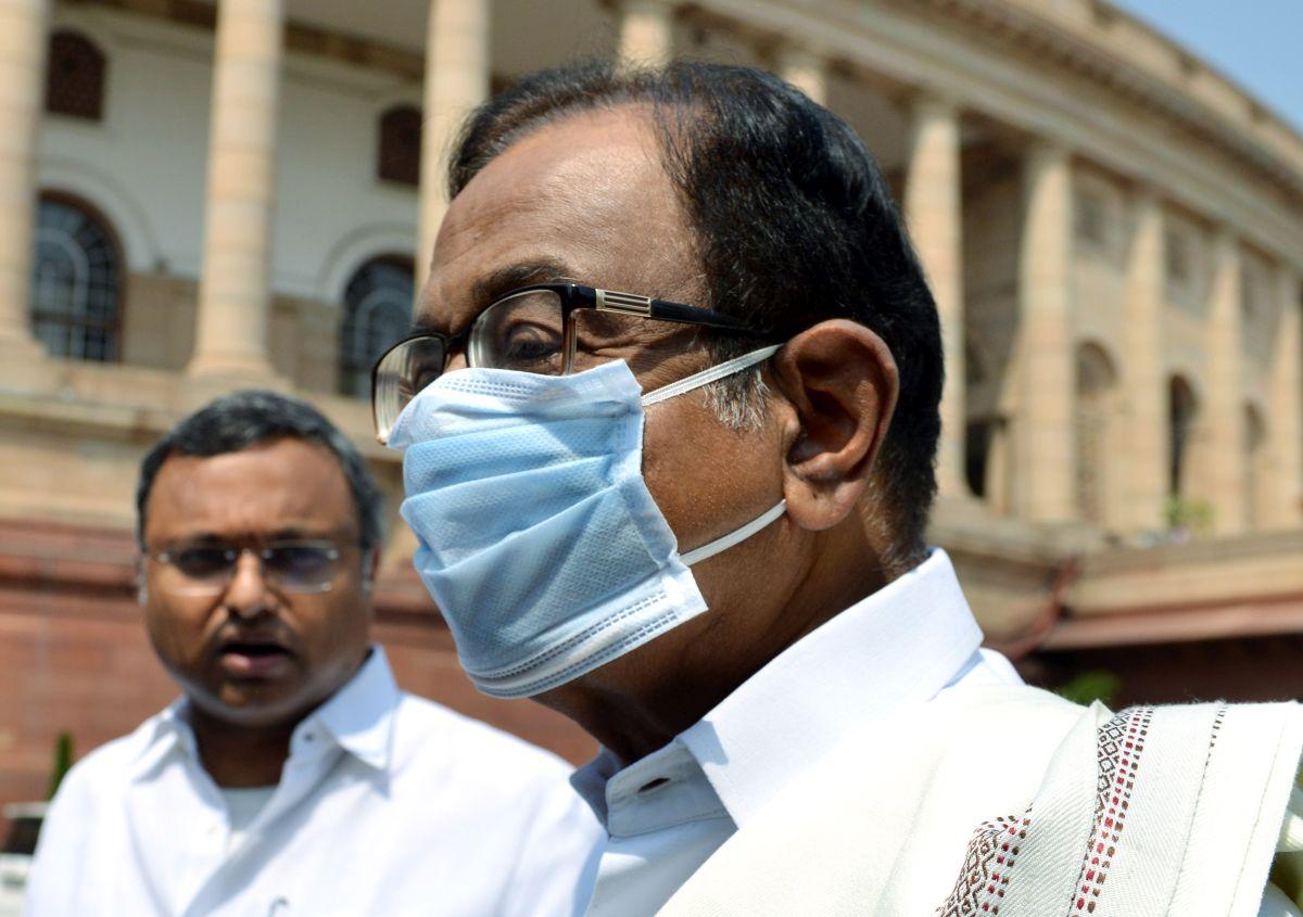 INX Media: Court summons Chidambaram, son Karti