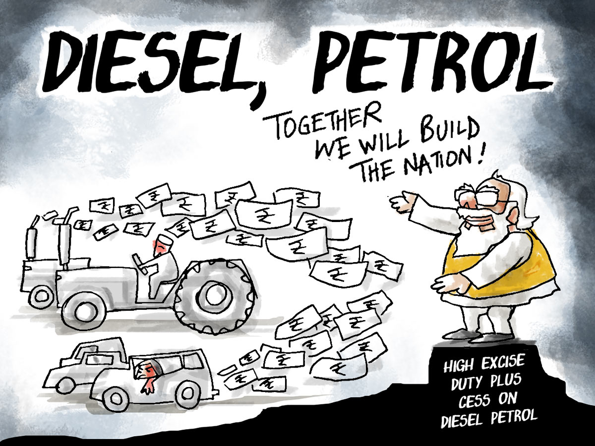 Dom's Take: No Acche Din for Fuel Prices